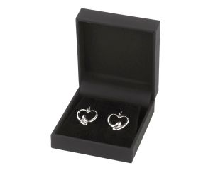 Allure Large Earring Box Black