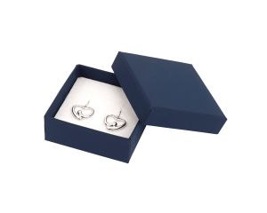 Luxury Cardboard Small Universal Box Blue