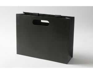 Luxury Medium Gift Bag Graphite Grey