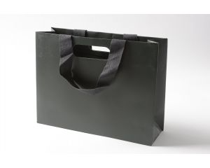 Luxury Large Gift Bag Graphite Grey