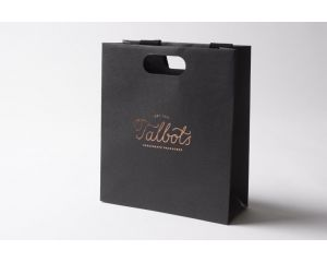Haute Small Luxury Gift Bag Black