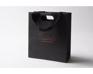 Haute Medium Luxury Gift Bag Black