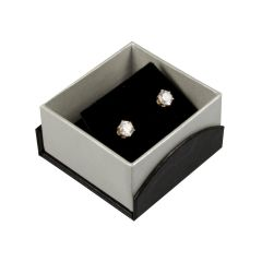 Papillon Black Earring Box